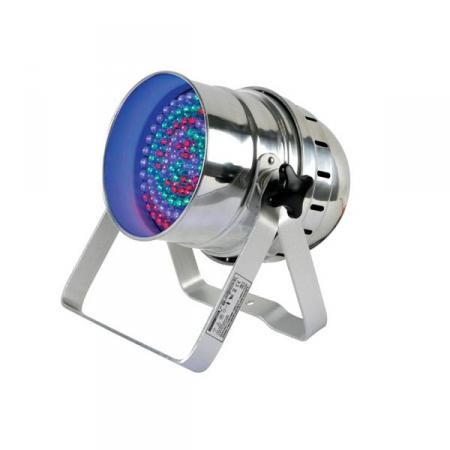 LED Par 56 - Multicolor - HQ Power - Zilverkleurig