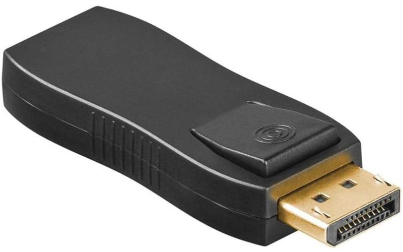 Displayport adapter - Goobay - Passief - Zwart