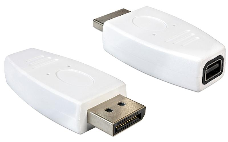 Displayport adapter - Delock - Wit