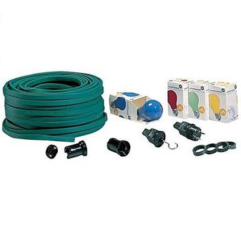 Prikkabel Set - Techtube Pro - 25 meter - Groen