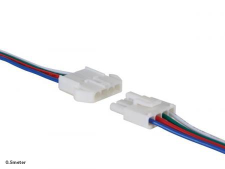 Connector - Perel - 0.5 m - 24V
