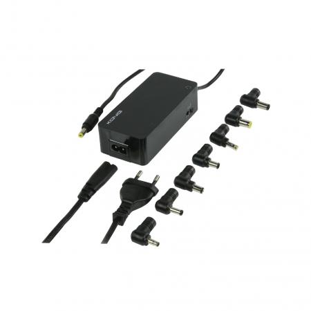 Laptop adapter - König - 4620 mA - Zwart