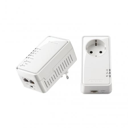 Powerline adapter set - LN-555 - Wit