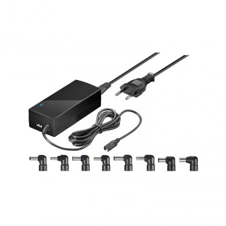 Laptop adapter - Goobay - 4500 mA - Zwart