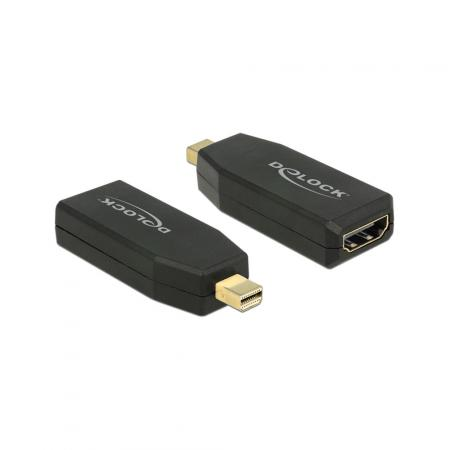 Mini Displayport adapter - Delock - Actief - Zwart