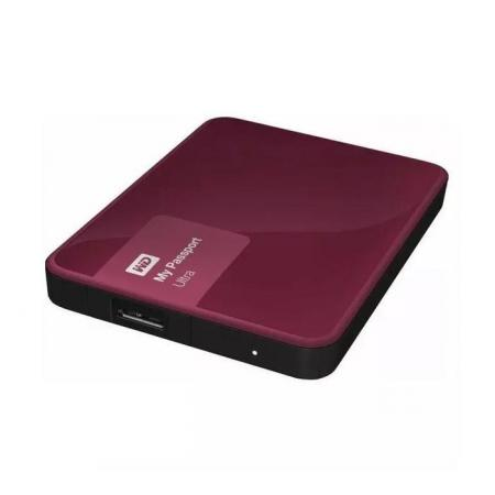 Externe Harde schijf - WD - My Passport Ultra - 1 TB - Rood