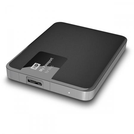 Externe Harde schijf - WD - My Passport for Mac - 1 TB - Zwart