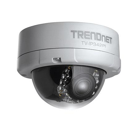 Dome Camera - Trendnet - TV-IP342PI - Pan Tilt Zoom