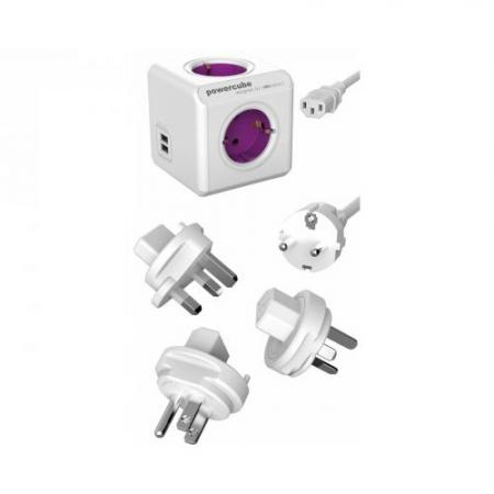 Reisaccessoire - Powercube - USB Aansluiting