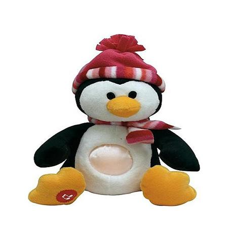 Nachtlamp - Pinguin - LED - Knuffel