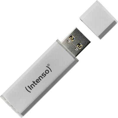 USB Stick - Intenso - Ultra Line - 128 GB - Zilver