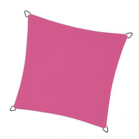 Schaduwdoek - Vierkant - Fuchsia - Perel - Waterdoorlatend