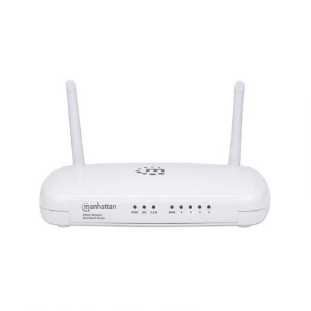 Wifi Router - Manhattan - AC750 - Wit