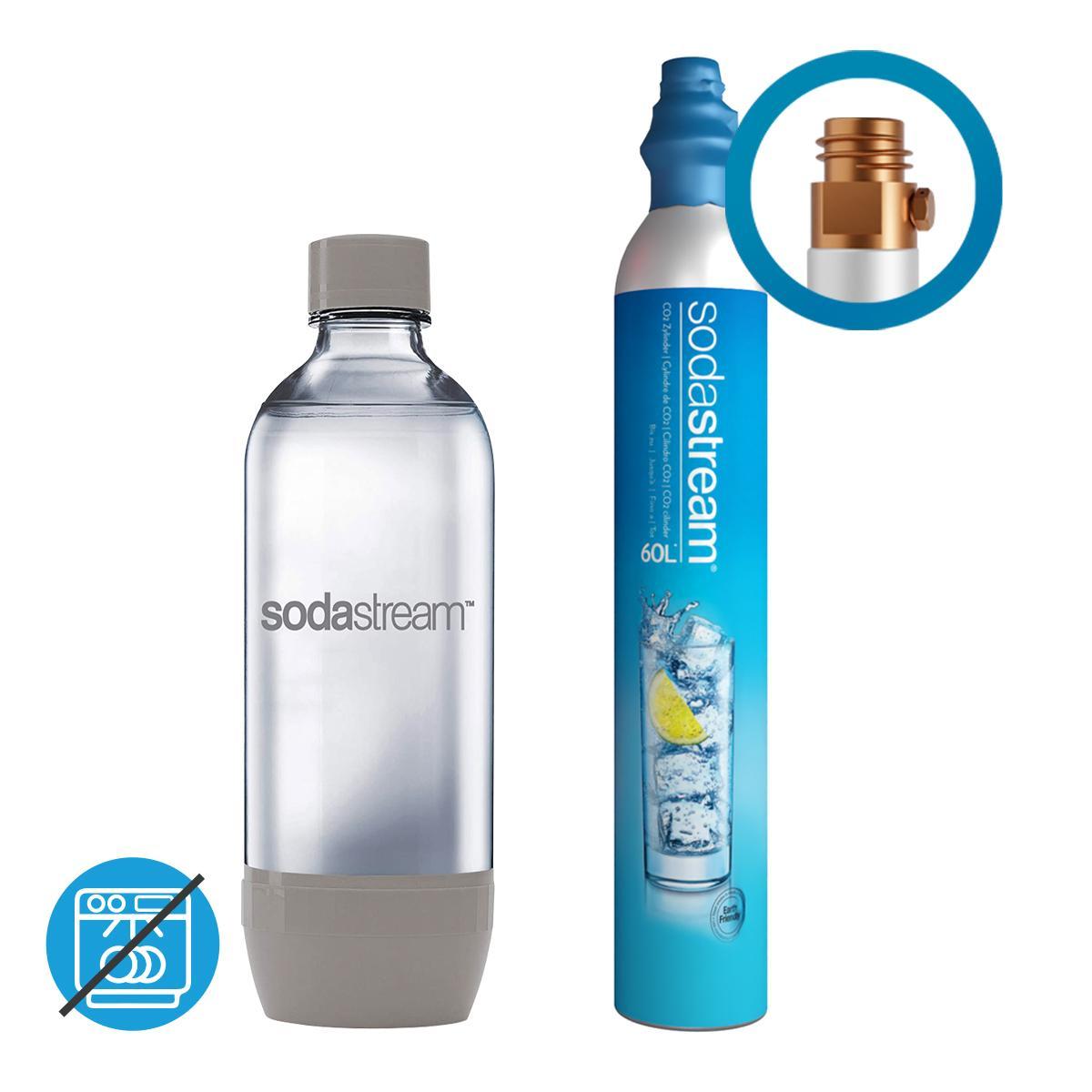 Afbeelding van SodaStream CO2 cilinder / Flessen Promo Pack I