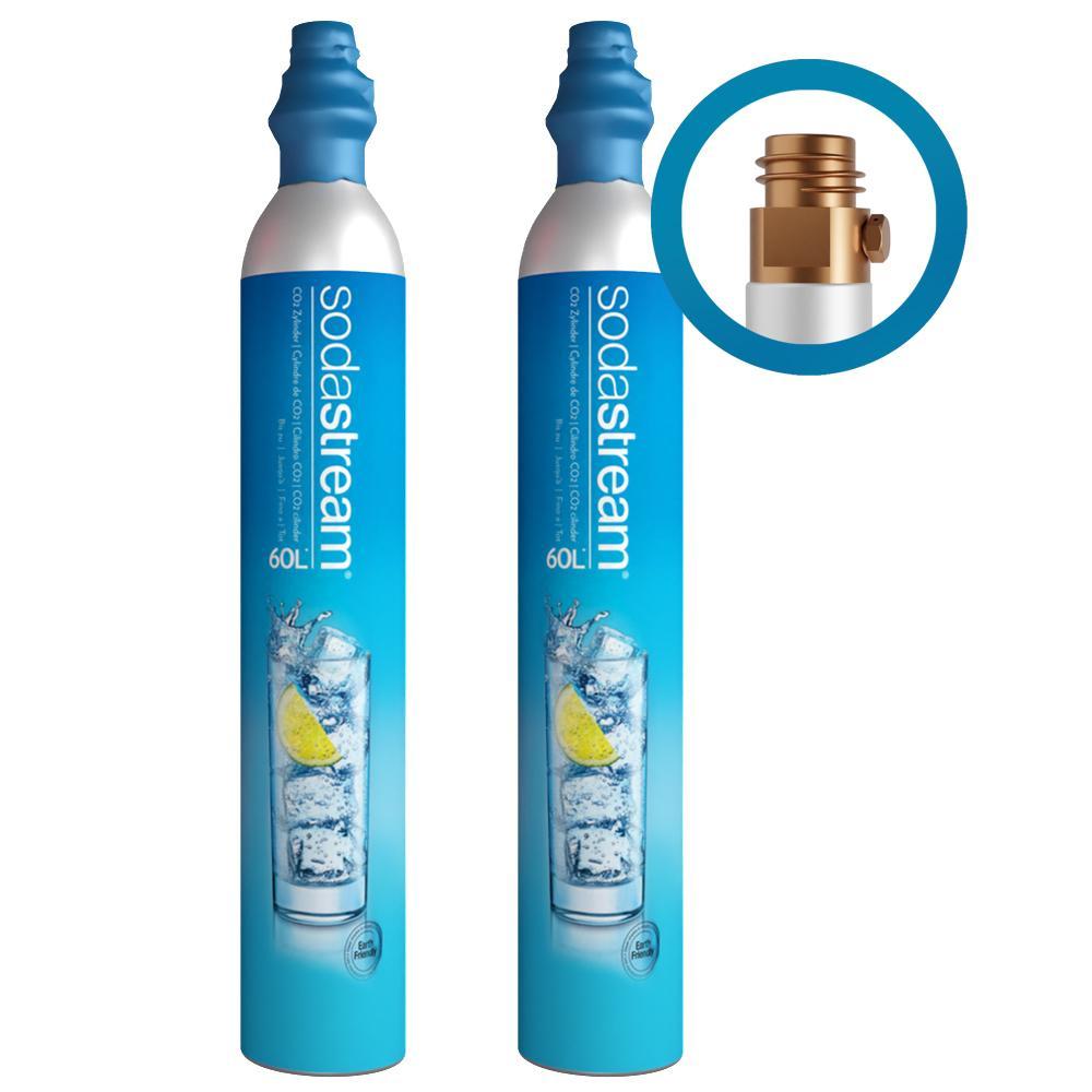 Afbeelding van SodaStream CO2 cilinder Ruilcilinder (2 pack)